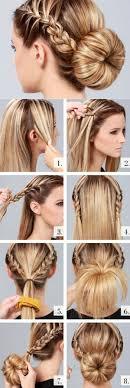 Hochsteckfrisurenen Selber Machen Glatte Haare by Hochsteckfrisuren Selber Machen 58 Anleitungen Für Effektvolle