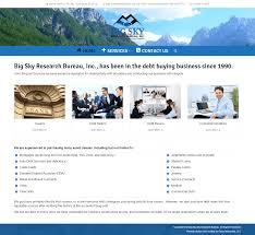 Home Design Interactive Website Website Redesign Big Sky Research Bureau Oasis Interactive
