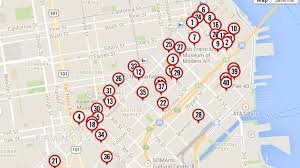 San Francisco Parking Permit Map by Updated Mapping Building Projects Changing The Face Of Soma