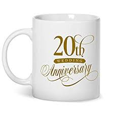 20th wedding anniversary 20th wedding anniversary platinum wedding gifts 20th