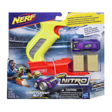nerf car nerf nitro throttleshot blitz green blaster walmart canada