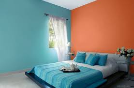 blue and orange room bedroom orange blue bedroom colour ideas preview ideas