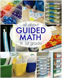 guided math in 1st grade the brown bag teacher