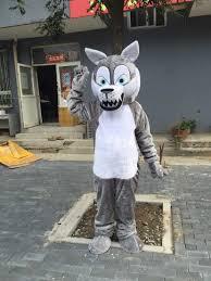Mascot Costumes Halloween Wolf Mascot Costume Promotion Shop Promotional Wolf Mascot