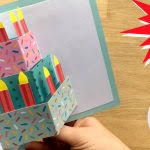 easy pop up card how to projects red ted art u0027s blog