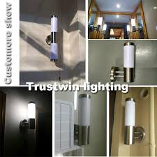 Outdoor Wall Sconce Modern Luxary Stainless Steel Modern Style Waterproof Light Led Indoor
