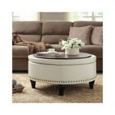 round storage ottoman coffee table foter