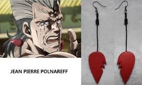 jojo s earrings anime earring jojo s adventurejean polnareff