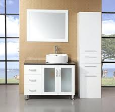 White Bathroom Vanity Without Top Dailybathroom Page 60 Vintage Bathroom Cabinet With Mirror