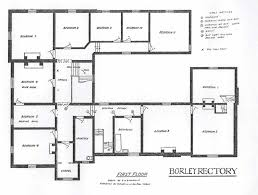 Adobe Floor Plans by Rectory First Floor Plan