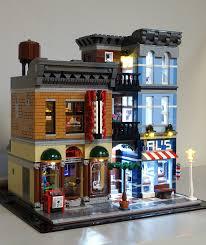 led lighting kit for lego 10246 detective u0027s office led lighting