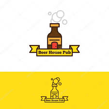 beer bottle cartoon vector beer bottle with a door logotype cartoon style alcohol