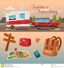 family vacation time holidays by cer stock vector image