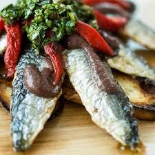 cuisiner des sardines fraiches filets de sardine grillés d helena loureiro ricardo