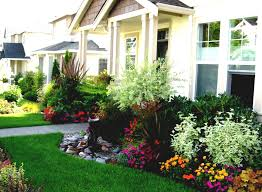 easy diy landscaping garden ideas for small front yard beautify