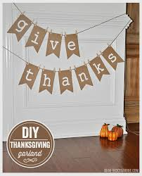 diy thanksgiving garland barone