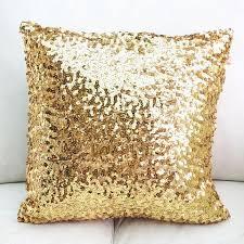 new sequin metallic throw pillow cushion от sparkleponyshop