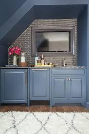 Mini Bar Bureau Foto De Office Mini Bar Home Office With Blue Alcove Bar Mini Bgbc Co