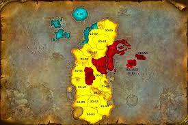 kalimdor map maps