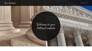 political website templates godaddy