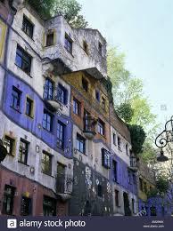 geography travel austria vienna buildings hundertwasser