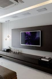 Tv Wall Decor by Alluring Tv Wall Decoration For Living Room And Living Room Modern