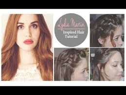 lydia martin inspired hair tutorial 3 hairstyles youtube