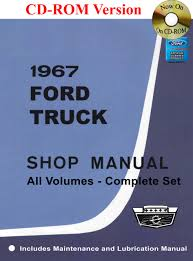 1967 ford truck shop manual ford motor company david e leblanc