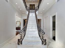 Villa Stairs Design Model Staircase White Marble Staircase Italian Villa In Glencoe