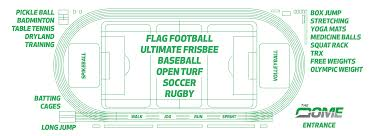 Flag Football Set For Adults Sports The Dome