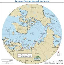 Northeast Map Geography In The News The Arctic U0027s Northeast Passage Nat Geo