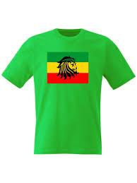 Rasta Flags Rasta T Shirt Rastafarian Flag Reggae Ganja Weed Haile Selassie