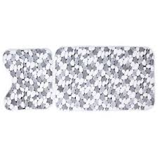 Bathroom Memory Foam Rugs White 50cm 80cm 2pcs Coral Fleece Bathroom Memory Foam Rug Floor