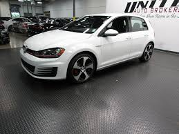 white volkswagen gti 2016 used volkswagen golf gti s se at united auto brokers serving