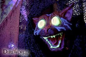direworld scare park in roseville ca halloween alice pinterest