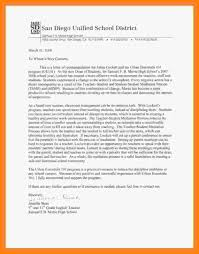 generic recommendation letter for student gallery letter samples