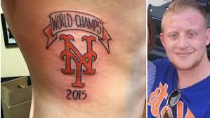 fan doesn u0027t regret tattoo reading u0027mets world champs 2015 u0027 nbc