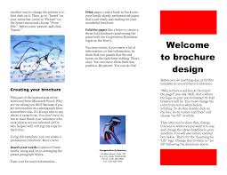 9 best images of free tri fold brochure maker free online