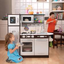 Kitchens For Toddlers by Kidkraft Uptown Espresso Play Kitchen 53260 Hayneedle