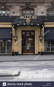 the waldorf hotel on aldwych in covent garden in the west end of