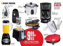 black friday stove deals kohl u0027s black u0026 decker small appliances 1 99 after discounts