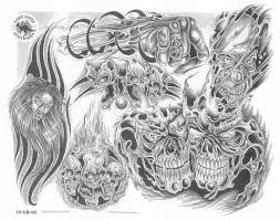 skull tattoo images free demon tattoo images u0026 designs