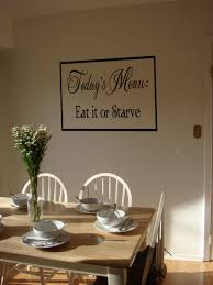 today menu eat starve wall decals trading phrases today menu eat starve wall decal