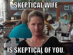 The Following Memes - new meme skeptical wife pophangover