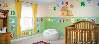 Abc Wall Decals Roselawnlutheran - Alphabet wall decals for kids rooms