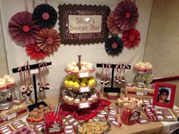Western Theme Party Decorations Red Western Theme Candy Buffet Cupcake Table Livaysweetshop