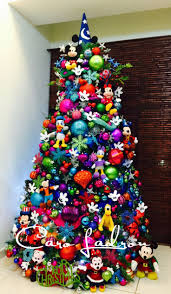 themed christmas tree decorations christmas christmas best disney decorations ideas on