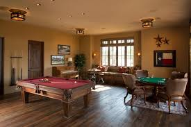 Pool Table In Living Room 15 Homes With Amazing Pool Tables That Are Anything But An Eyesore
