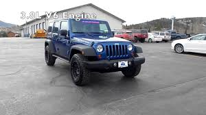 jeep wrangler lineup pre owned 2009 jeep wrangler rubicon 4x4 on sale near vail co
