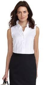 sleeveless ruffle blouse brothers non iron cotton ruffle blouse where to buy how
